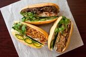 Vegetarian sandwitches