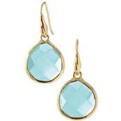 Serenity earrings aqua