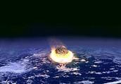 Small Meteor impact