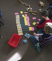 "Mrs. Manta's Kindergarteners practicing the ""teens"""
