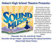 HHS Fall Musical - Sound of Music  Nov. 3rd thru 6th!