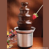 CHOCOLATE FOUNTAIN...