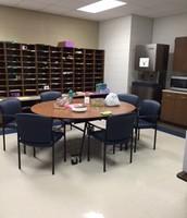 Mailroom/Staff Lounge
