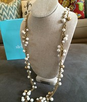 SOLD Gabrielle Pearl Necklace $35