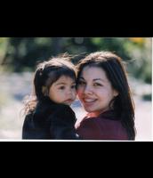 My mom, Sasha, and I