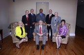The City Council of Albemarle with the Mayor