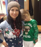 Ugly Sweater Contest!