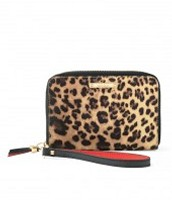 TECH WALLET LEOPARD £22.50