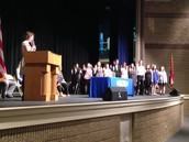 National Honor Society swore in new members