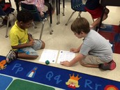 Learning a math game.