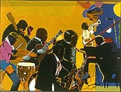 Jazz by Romare Bearden