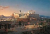 What was the daily life in Athens like?