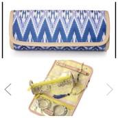Indigo Ikat Roll with it - $20 (Retail $39)