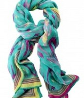Ikat Palm Springs scarf