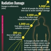 effects of exposure to high levels of radiation