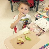 Green apples were the class favorite!