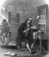 Benjamin Franklin's first printing press