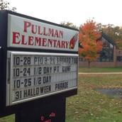 Pullman Elementary- Escuela Elemental de Pullman