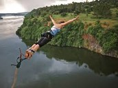 Bungee Jumping into the Nile River
