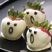 Ghosts Strawberries