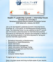 Health IT Summit - Nov. 20