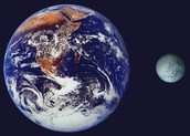 Difference between Pluto and Earth