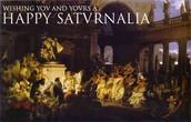 Happy Saturnalia!