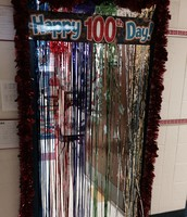 Miss Rudd's class was ready to celebrate the 100th day!