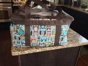 Hooo's Chilly Medium Utility Tote