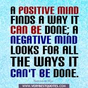 Positivity Matters
