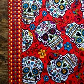 Candy Skull Place Mats