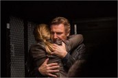 Liam and his daughter Kim hug
