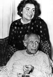 Picasso's Spouse Jacqueline (Roque) Picasso