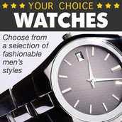 YOUR CHOICE: Men's Watch