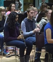 Colin Weaver on the Clarinet.