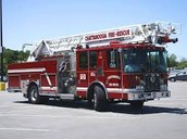 Firetrucks Visit Preschool