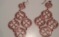 Laurel Earrings- Limited Edition Rose Gold