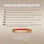 Enlighten Bracelet - Every Mother Counts