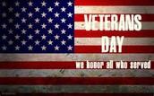 Veterans Day at KP - Wednesday, November 11th