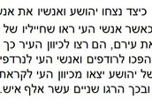 ניצחון בני ישראל על אנשי העיר עי