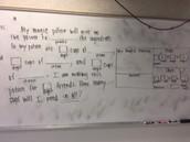 Great math problem by Mr. Vuong!