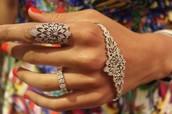 The palm bracelet