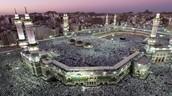 5) Go with my family on Hajj