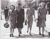 """""""Post WWII"""" Woman"""
