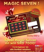 De nieuwe kraskaart: Magic Seven