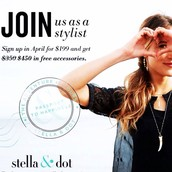 Get $450 for $199 when you become a STYLIST in April