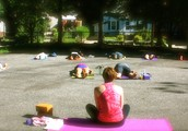 Rise & shine with a fun, flowing outdoor Yoga class!