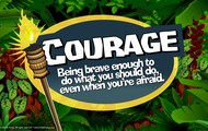 "September virtue: ""Courage"""