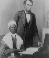 Sojourner Truth with Abraham Lincoln