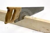 Chooping wood